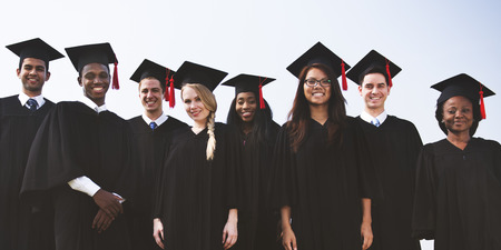 Studenten Abschluss-Erfolg, Leistung Konzept