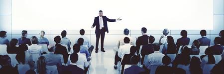 Coaching Mentoring Seminar Meeting Conference Business Concept Foto de archivo