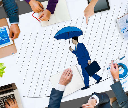 dangerous woman: Risk Management Protection Opportunity Planning Concept