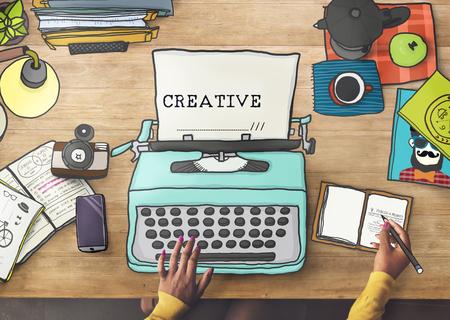 inspiration: Creativity Creative Ideas Imagination Inspiration Design Concept Stock Photo