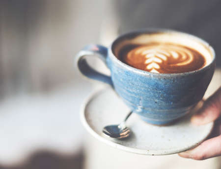 coffeecup: Coffee Cafe Caffeine Cappuccino Freshness Cup Concept Stock Photo