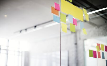 Post It Office Reminding Notice Organization Concept