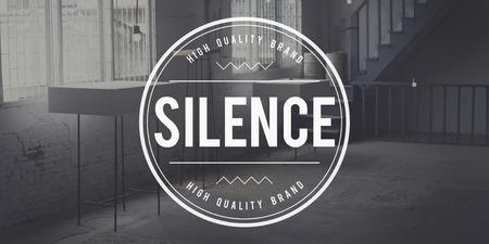 quietness: Silence Peaceful Tranquil Quietness Still Silent Concept Stock Photo