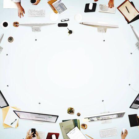 Réunion Les gens d'affaires Discussion Concept de travail