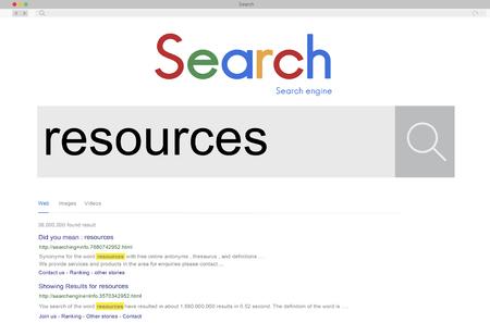 circumstance: Resource Resources Circumstance Career Employee Concept Stock Photo