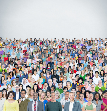 variation: Diverse Diversity Multiethnic Cheerful Variation Concept