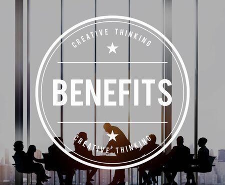 value: Benefits Incentive Welfare Advantage Bonus Profit Concept