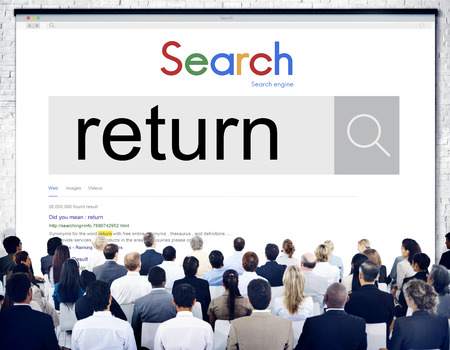 contributions: Return Income Tax Deposit Term Accumulation Concept Stock Photo