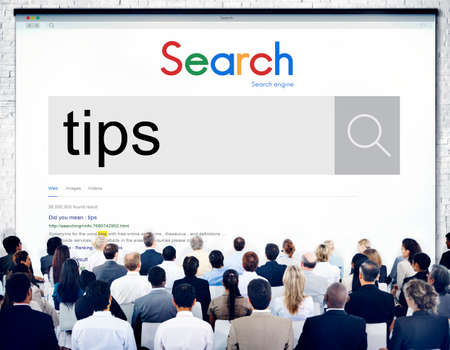 skill: Tips and Tricks Skill Expert Support Assistance Help Concept Stock Photo