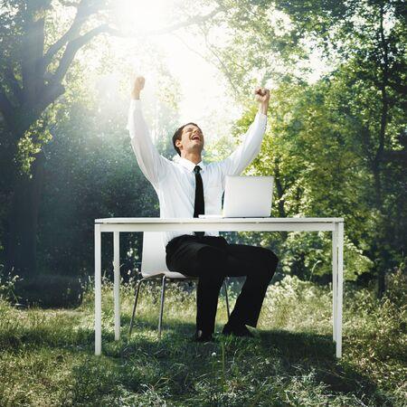 conservative: Businessman Professional Executive Conservative Think Concept Stock Photo