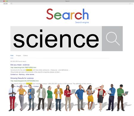 research science: Science Research Education Experiment Innovation Concept