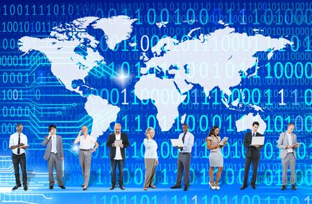 global village: Worldwide Global Unity Social Gathering Community Concept