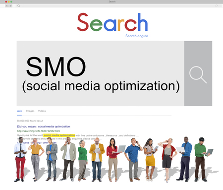smo: SMO Social Media Optimization Online Technology Networking Concept