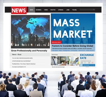 executive women: Mass Market Commercial Production Business Concept