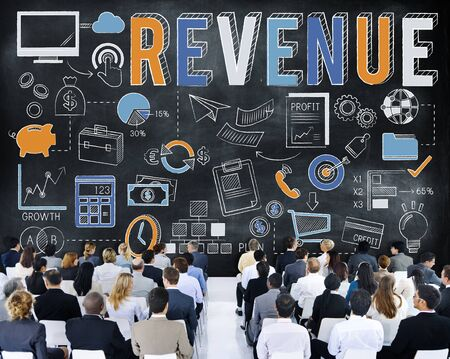 Revenue Profit Sales Finance Concept Stock Photo