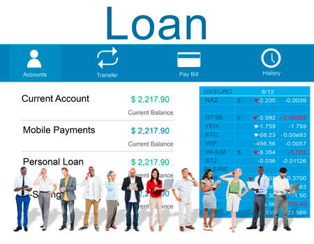 loan: Loan Banking Accounting Budget Money Concept