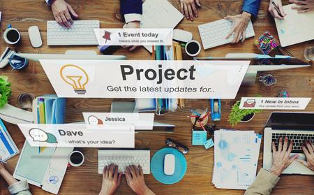 Projektplan Betrieb Job Strategy Venture Aufgabe Konzept