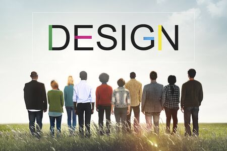 Progettazione ispirazione creativa idee Concetto