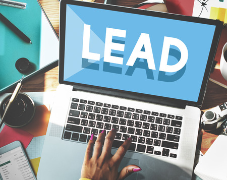 trainer device: Browsing Network Internet Lead Leadership Concept Stock Photo