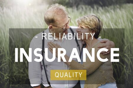 insurance protection: Insurance Life Reliability Quality Living Concept