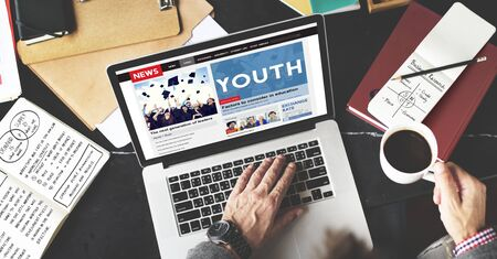 Youth Culture Young Adult Generation Lifestyle Concept Stock Photo