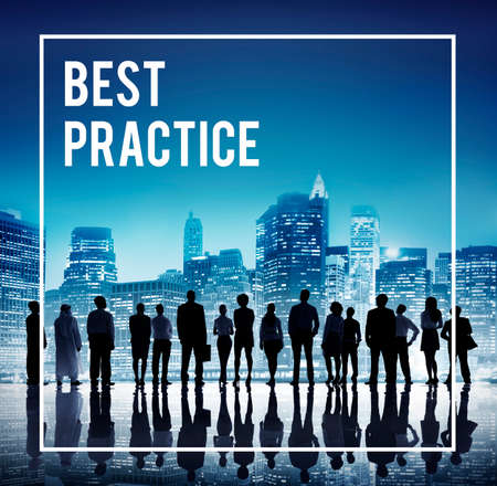 best practice: Best Practice Training Rehearsal Implementation Concept Stock Photo