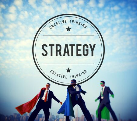 powerful creativity: Strategy Vision Planning Process Tactic Concept