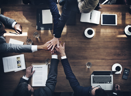 Business People Teamwork Collaboration Relation Concept Standard-Bild