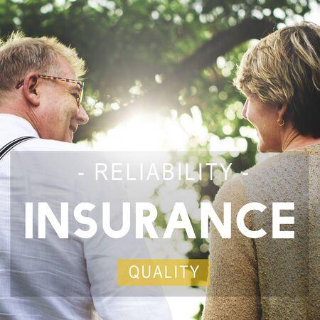 risky love: Insurance Life Reliability Quality Living Concept