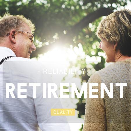 retire: Retirement Retire Menagement Estate Fees Insurance Concept