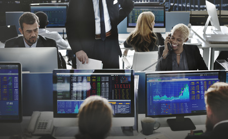 trading: Business Team Investment Entrepreneur Trading Concept