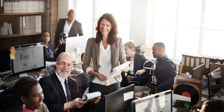 organization: 비즈니스 팀 작업 회사원 개념 스톡 콘텐츠