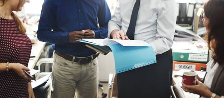 Bureau de travail Business Team Worker Concept