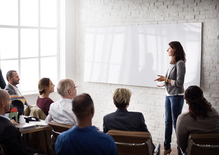 coaching: Conference Training Planning Learning Coaching Business Concept