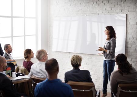 Planowanie Szkolenie Konferencja Nauka Coaching Business Concept