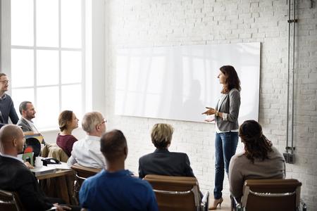 lider: Aprendizaje Planificación Formación Conferencia de Entrenamiento del concepto del asunto Foto de archivo