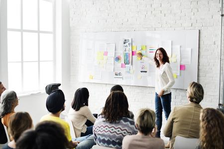 Design Team Meeting Presentation Creative Concept Imagens