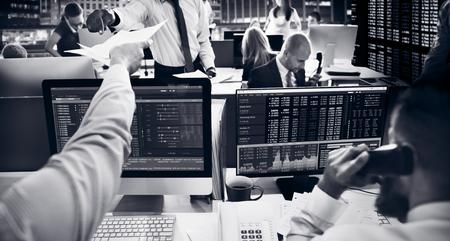 Business Team Przedsiębiorca Investment Trading Concept