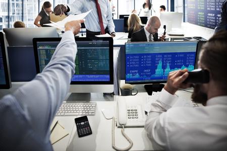 Business Team Przedsiębiorca Investment Trading Concept Zdjęcie Seryjne