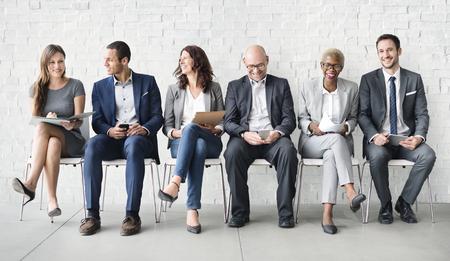 Human Resources Interview Recruitment Job Concept