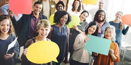 Różnorodność zespołu Społeczność Grupa ludzi Concept
