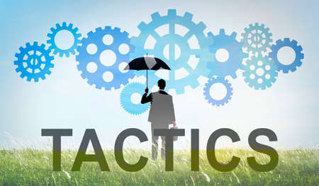 failed strategy: Tactics Strategy Business People Concept