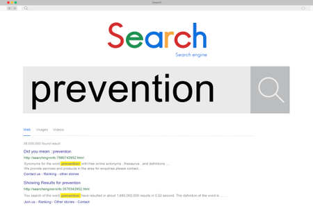 symptoms: Prevention Disorder Stopping Symptoms Vaccination Concept