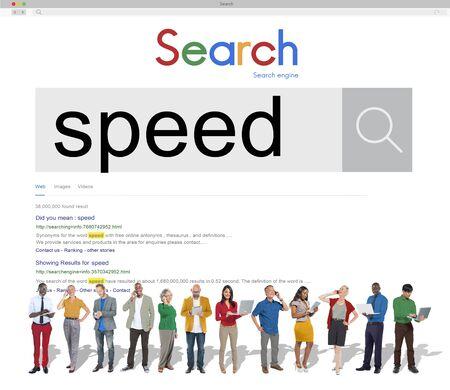 rushed: Speed Rush Rapidity Velocity Momentum Concept