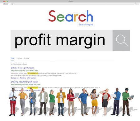 margin: Profit Margin Payments Budget Accounting Ratio Concept