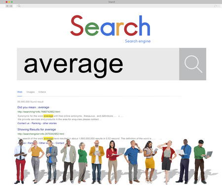 ordinary: Average Ordinary Common Regular Concept