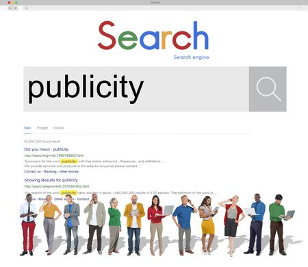 limelight: Publicity Public Attention Propaganda Boost Relation Concept