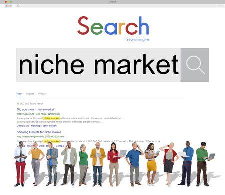 consumer: Niche Market Demand Consumer Target Concept