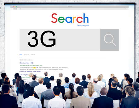 3g: 3G Technology Word Searching Discover Concept Stock Photo