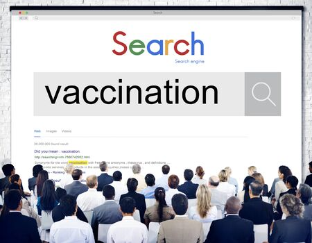 Vaccination Infection Medical Prevention Sickness Concept Stock Photo
